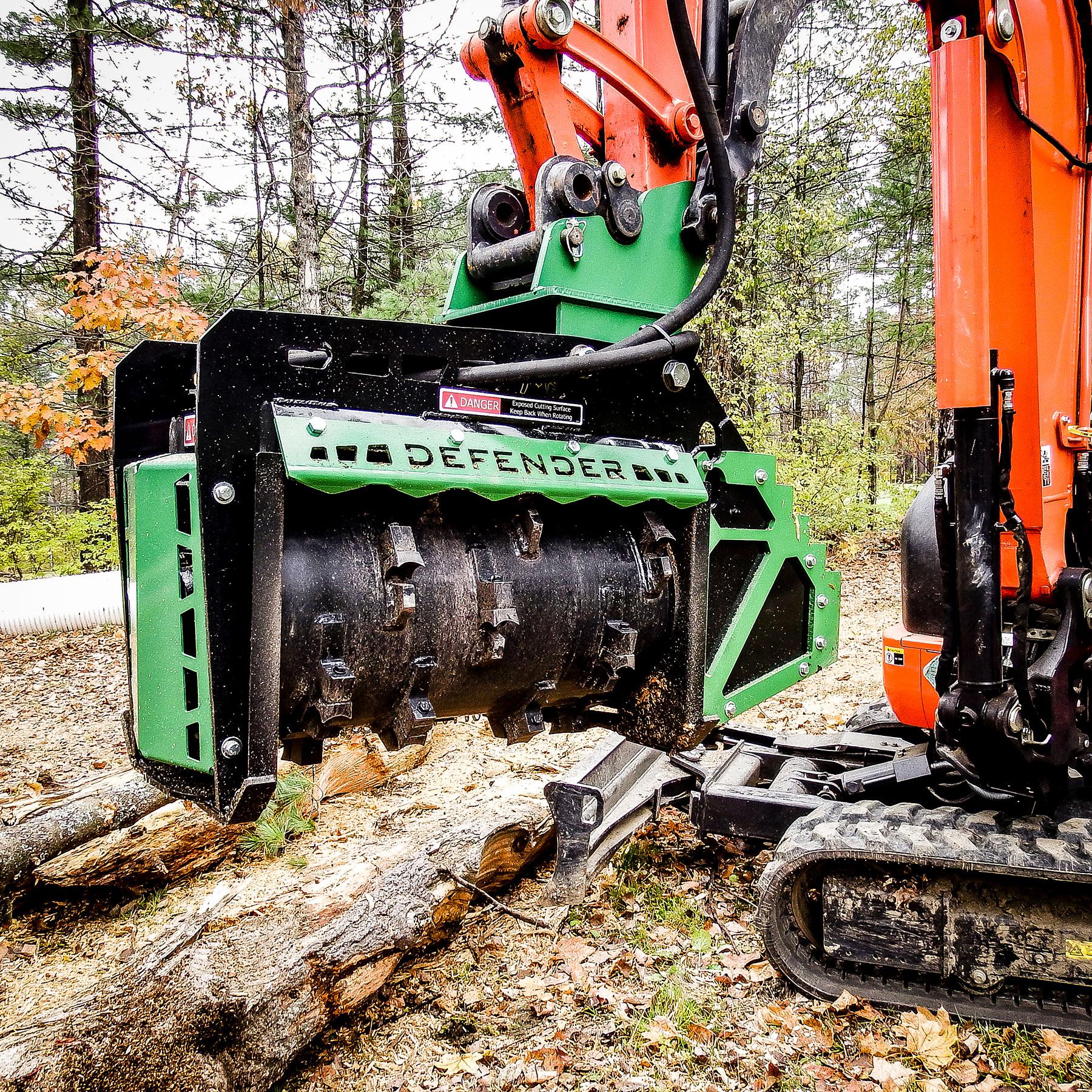 FX-Series Forestry Mulchers